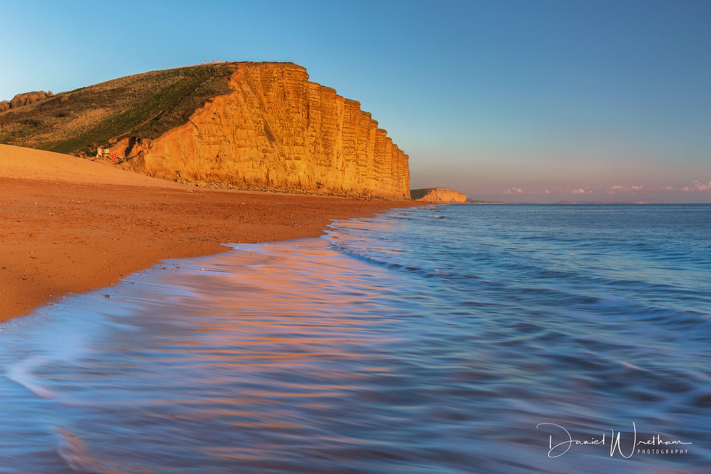West Bay, landscape photography, dorset sunset, sunrise, west bay, light, lee filters,