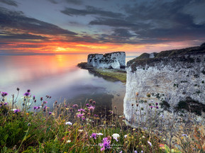 Dorset Landscape Photography Locations, Old Harry Rocks