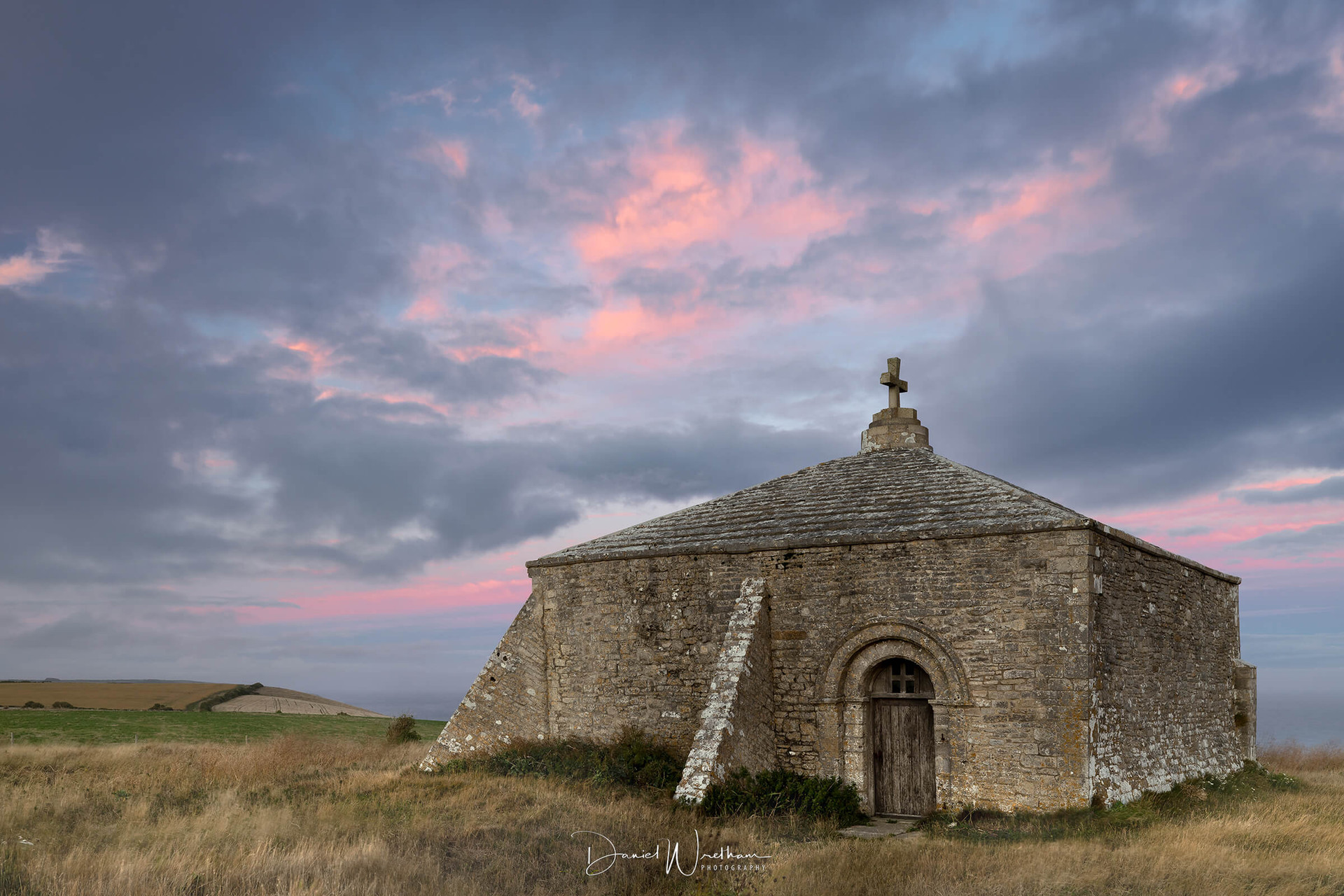 St Aldhelms Chapel Sunset