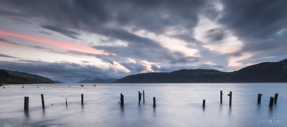 Looking Down Loch Ness