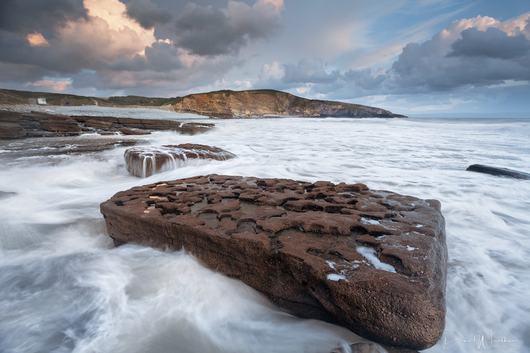 Dusk at Dunraven Bay