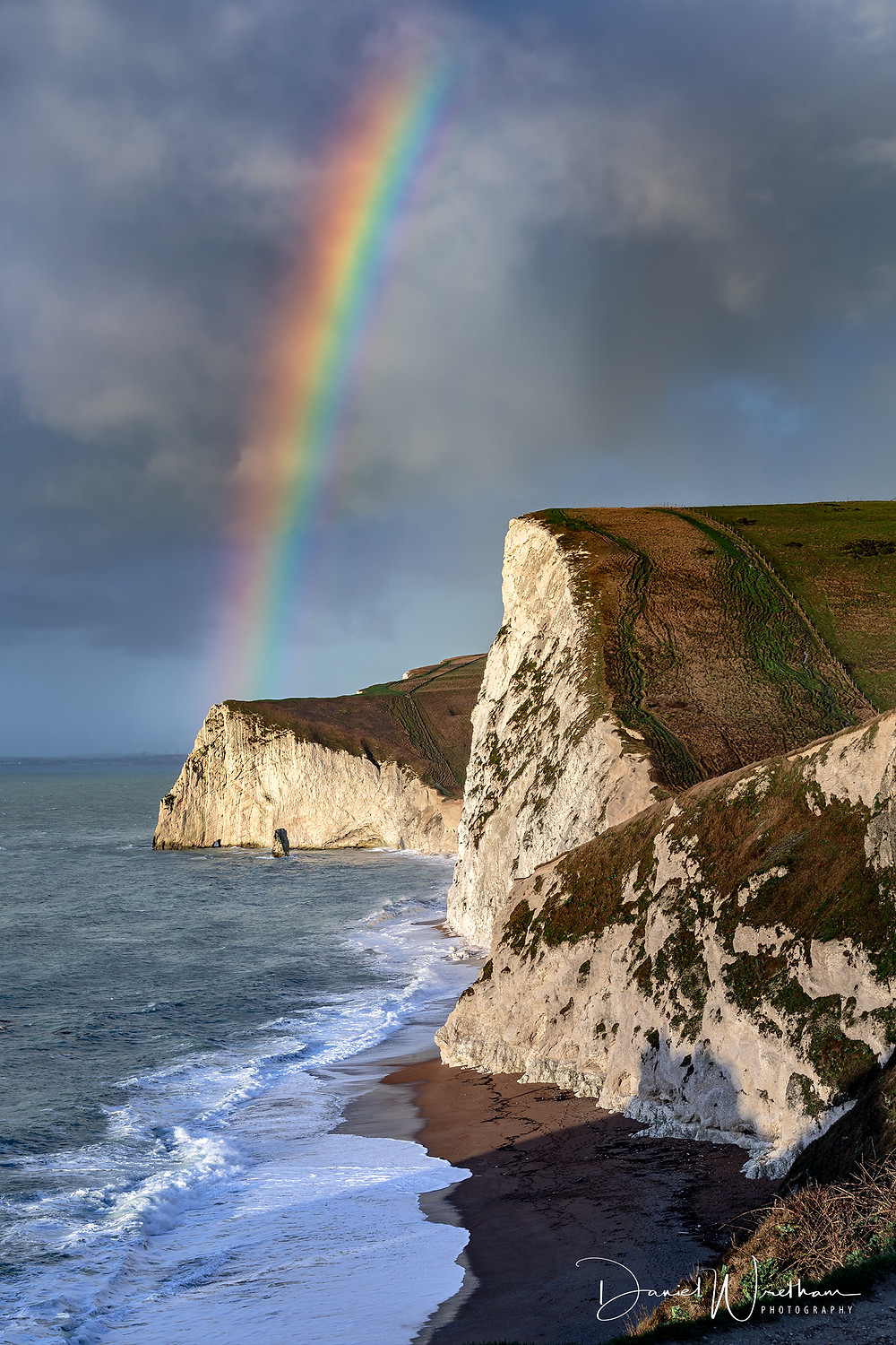 Durdle Door Rainbow, Dorset Landscape Photography Locations