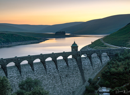 Photographing the Elan Valley, Wales