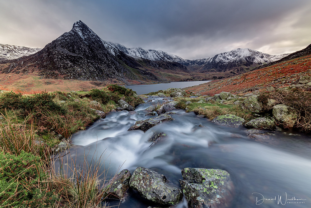Tryfan, Ogwen Valley, Snowdonia, Snowdonia Landscape Photography, Daniel Wretham, Sunset, Sunrise, Long Exposure Photography