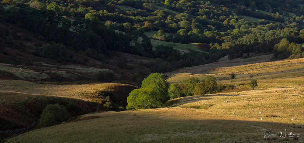 Light at the Brecon Beacons