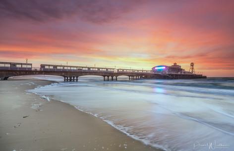 Bounemouth Pier Sunrise