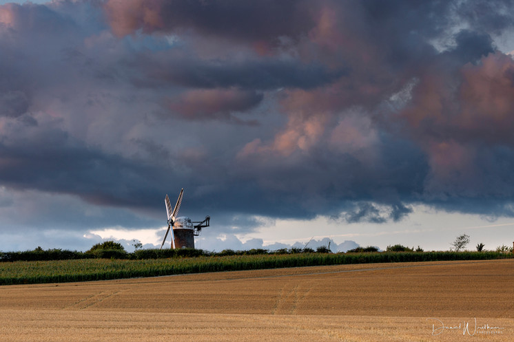 Storms at Wilton Windmill
