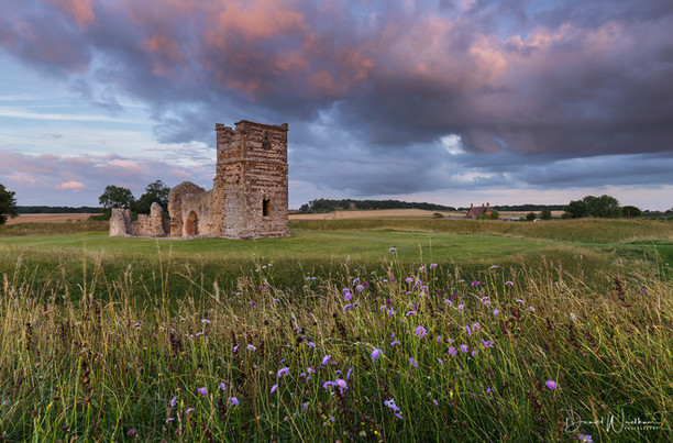 Flowers at Knowlton Church