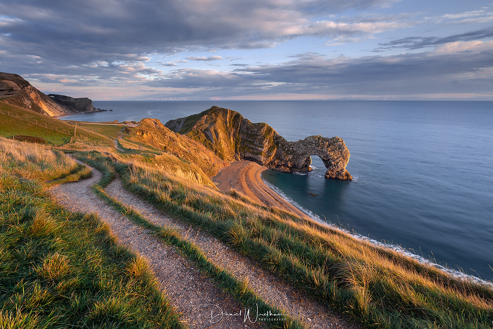Durdle Door, Sunset at Durdle Door, Jurassic Coast
