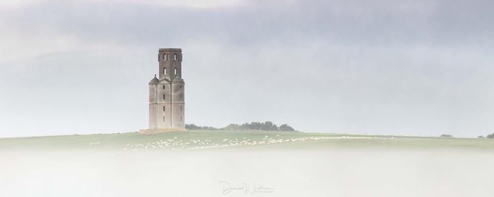 Horton Tower Mist Panorama