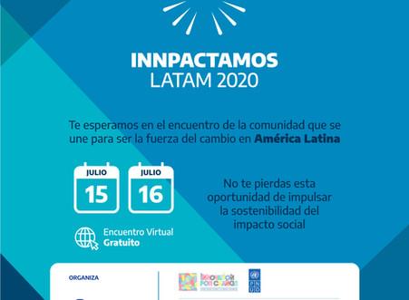 Innpactamos Latam 2020: un encuentro para quienes quieren transformar el mundo