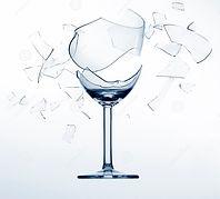 Splintering Wine Glass