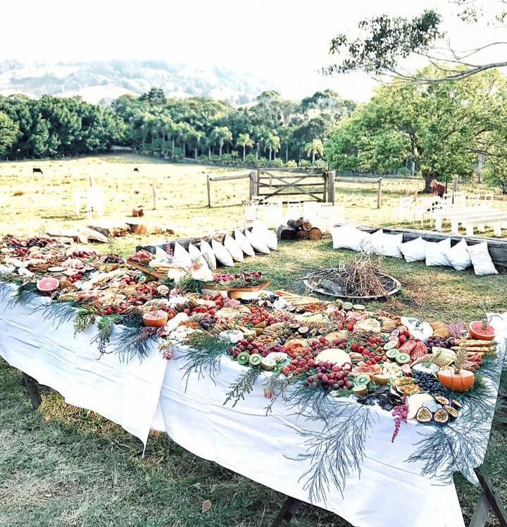Dahlia Graze Wedding, Pretty Platter Boxes