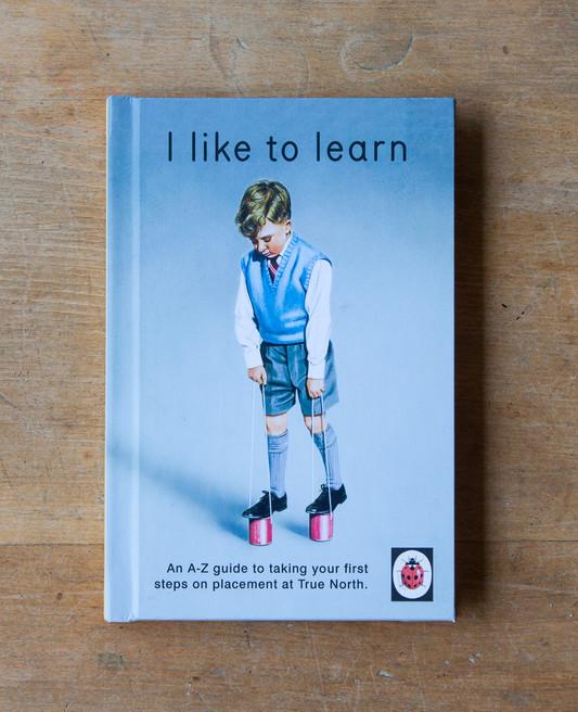 I like to learn