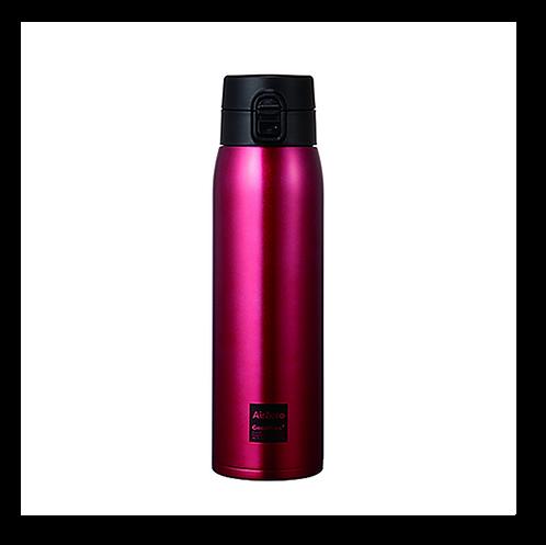 真空断熱ステンレスボトル(エアゼロ)800mlレッド