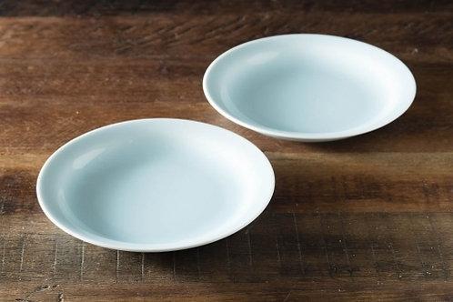 グッドプラス ARITA 丸皿16㎝ 2個セット 青磁 【日本製(有田焼)】