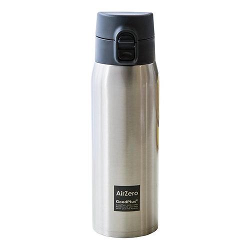 真空断熱ステンレスマグボトル(エアゼロ)500mlクリアステンレス【軽量  モデル約210g】