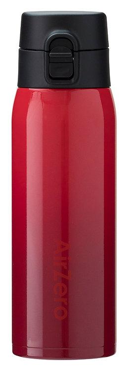 真空断熱ステンレスマグボトル(エアゼロ)500mlグラデレッド