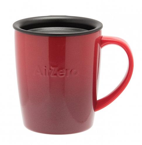 真空断熱ステンレスマグカップ(エアゼロ)300mlグラデレッド