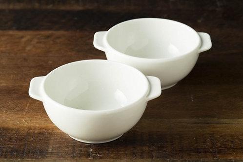 グッドプラス ARITA スープカップ 2個セット アイボリー 【日本製(有田焼)】