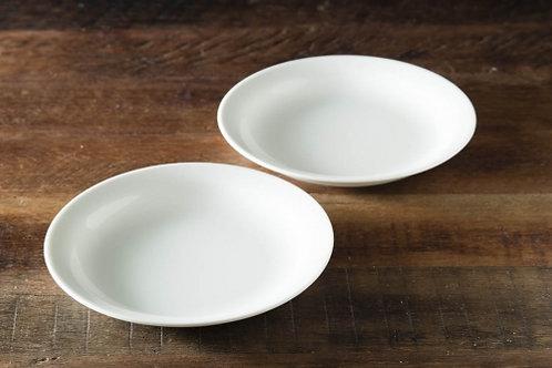 グッドプラス ARITA 丸皿16㎝ 2個セット アイボリー 【日本製(有田焼)】
