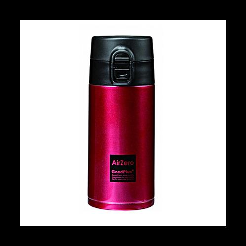真空断熱ステンレスマグボトル(エアゼロ)350mlレッド