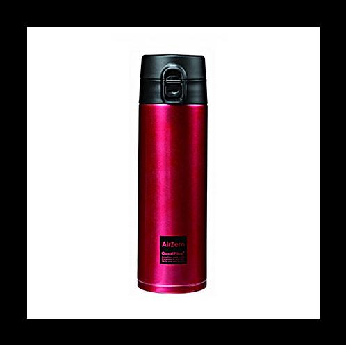 真空断熱ステンレスボトル(エアゼロ)500mlレッド