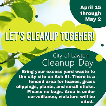 Copy of Spring Cleaning Neighbourhood Cl