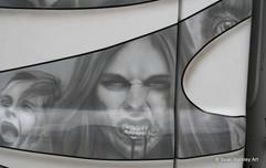 Zombie Truck Detail Vampire Girl