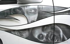 Zombie Truck Detail Walking Dead