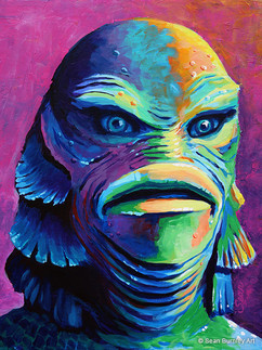 Vibrant Creature from the Black Lagoon