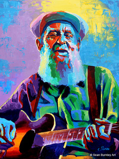 Sam Chapmon - The Blue Front Bluesman