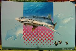 Sorayama Mechanical Shark Hood