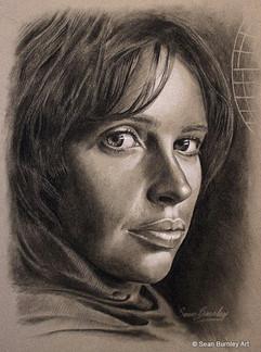 Jyn Erso drawing