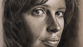 Tips for good portrait painting and image sources.