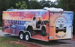Let's Go Jeepin' Trailer Grandsons' side