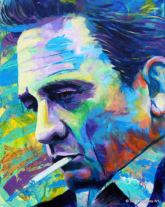 Vibrant Johnny Cash