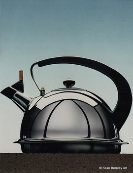 Chrome Teapot — 'Airbrush Action' Contest Winner