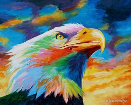Vibrant Eagle - Freedom