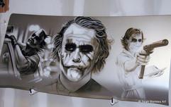 T-Pain's Joker Car Deck Lid