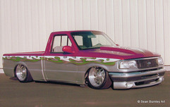 Two-Tone Ford Ranger