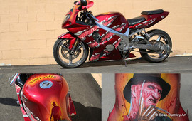 Freddy Krueger Street Bike