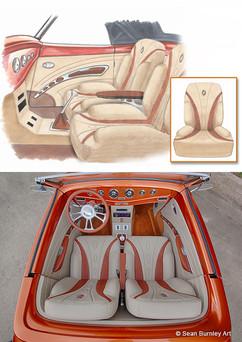 Roadster Interior Concept Rendering
