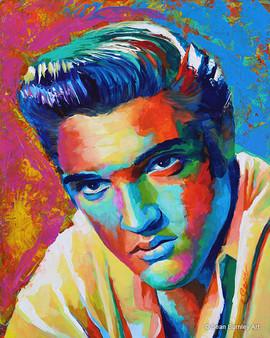 Vibrant Elvis Presley