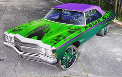 T-Pain's Joker Impala