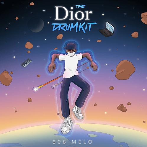 808 Melo The Dior Drumkit & Axl Drumkit - Gold Edition (3 Bonus Kits)
