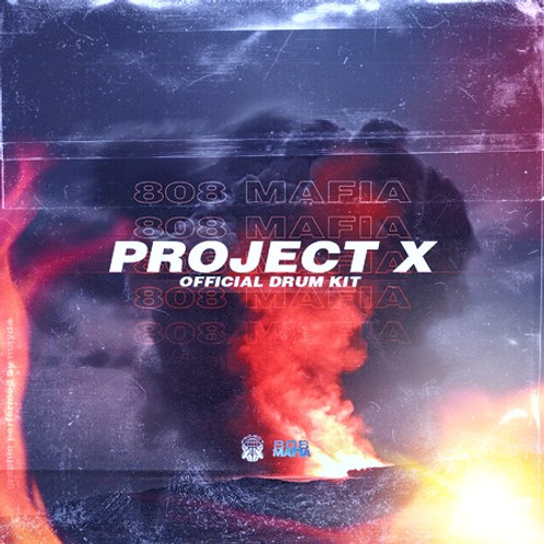 Project X - 808 Mafia Drum Kit