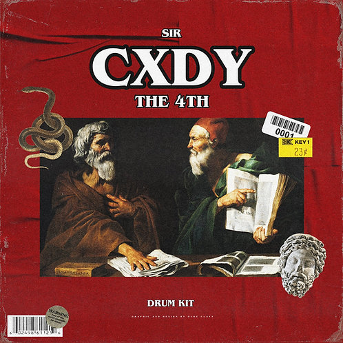 Sir Cxdy - The 4TH (Drum Kit)