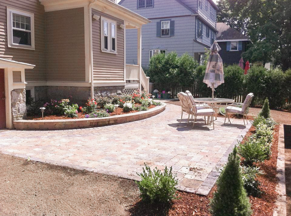 Patio Hardscaping