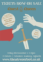 quest to save the queen TICKETS ON SALE_